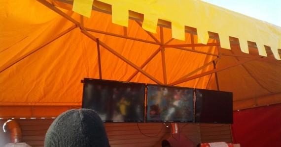 шатер в Томске